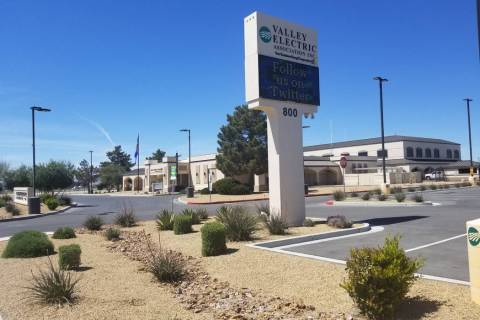 David Jacobs/Pahrump Valley Times Electric and broadband customers now can conduct business fro ...