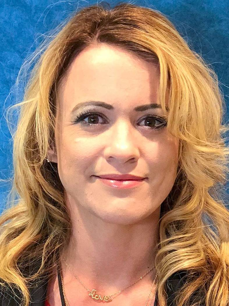 Special to the Pahrump Valley Times Cassandra Selbach, the executive vice president of communit ...
