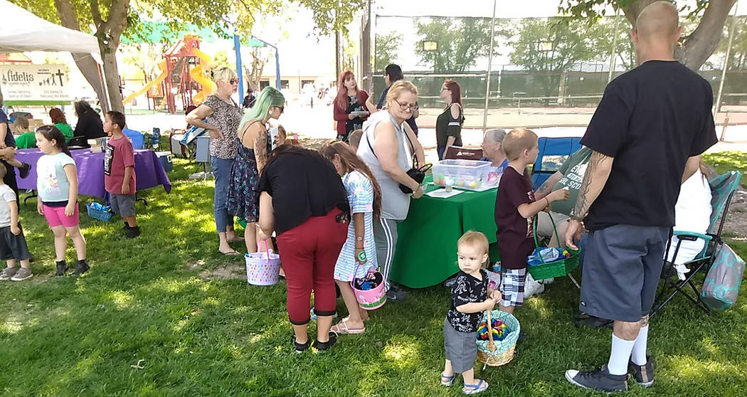 Selwyn Harris/Pahrump Valley Times The Girl Scouts of Southern Nevada was one of more than two ...