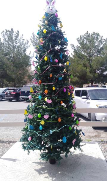 Selwyn Harris/Pahrump Valley Times Rather than hauling it out of storage once a year, official ...