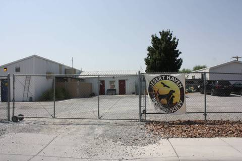 Robin Hebrock/Pahrump Valley Times The Pahrump Animal Shelter, currently operated by the nonpro ...