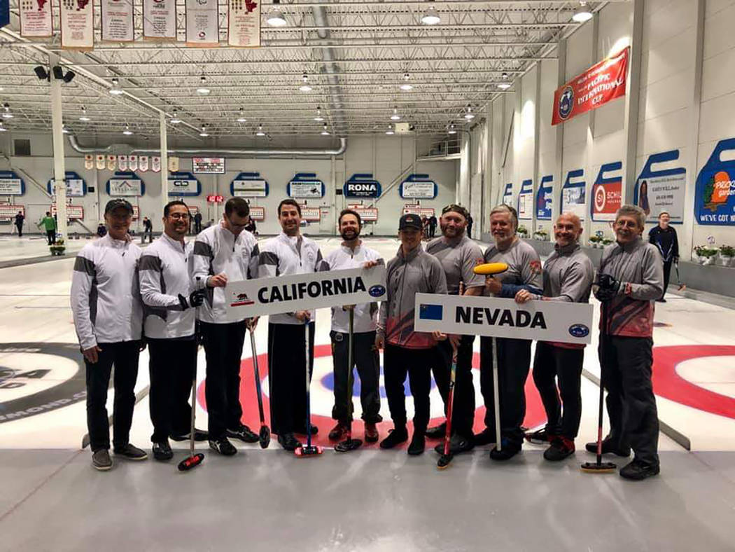 Special to the Pahrump Valley Times The Las Vegas Curling Club, the Nevada state champions, wit ...