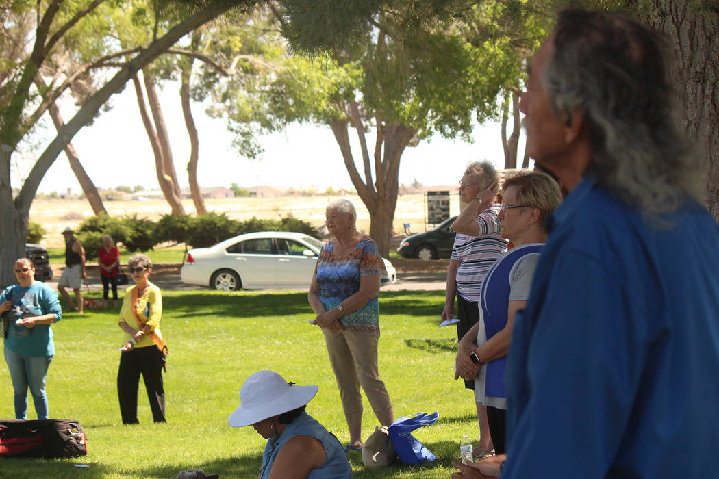 Jeffrey Meehan/Pahrump Valley Times A look at the 16th annual Celebration of Life Butterfly Re ...