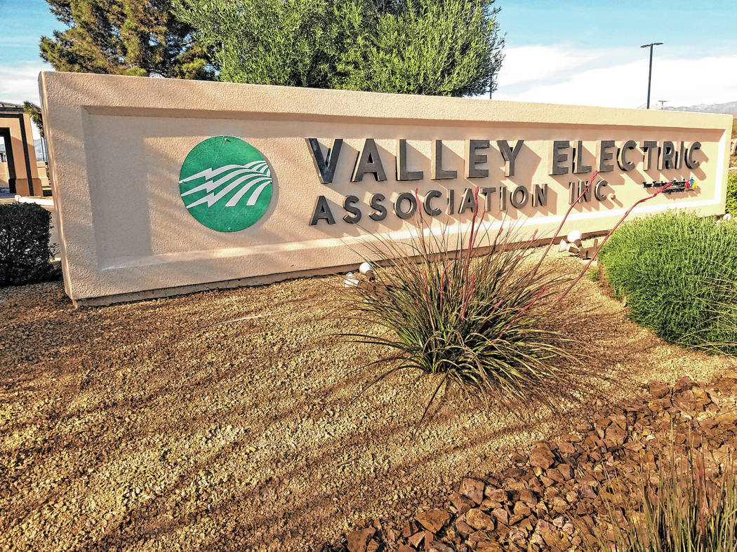 David Jacobs/Pahrump Valley Times The 2019 annual meeting for Valley Electric Association occur ...