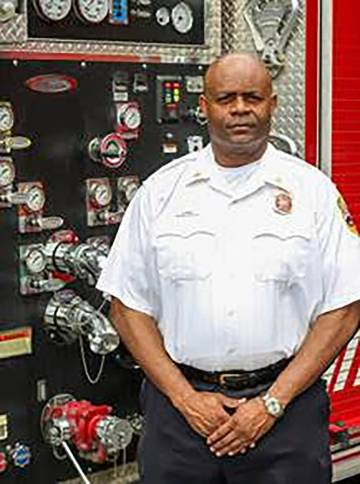 Nevada National Security Site Brian Dees assumes the role of fire and rescue chief with more th ...