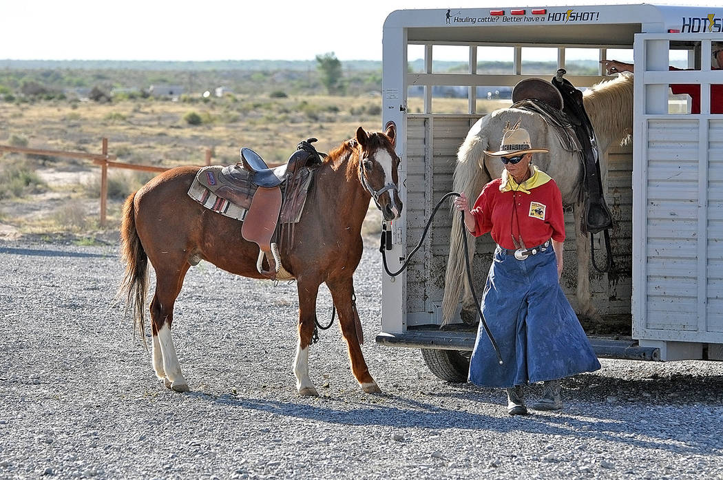 Horace Langford Jr./Pahrump Valley Times - Southside Trailhead opening Sunday