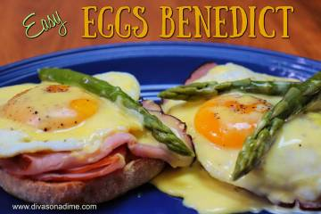 Patti Diamond / Special to the Pahrump Valley Times Eggs Benedict is a popular restaurant item ...