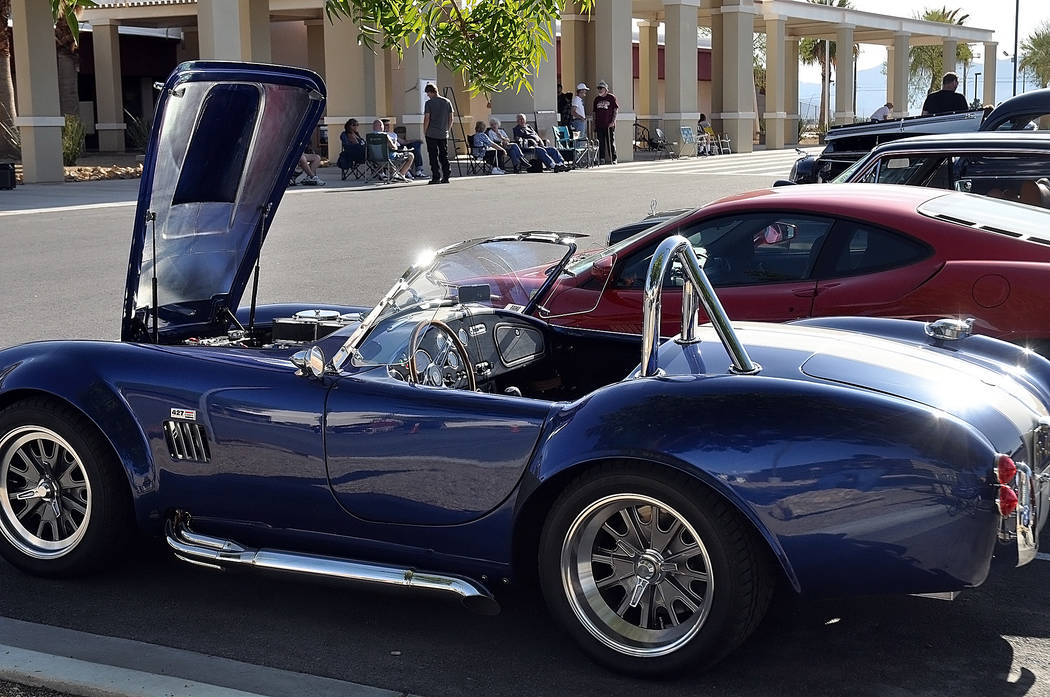 Horace Langford Jr./Special to the Pahrump Valley Times A variety of vehicles were on display d ...