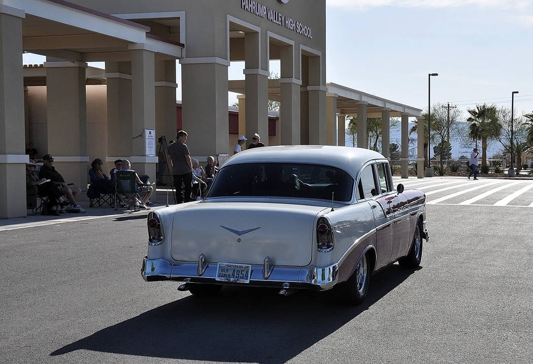 Horace Langford Jr./Special to the Pahrump Valley Times Classic and other vehicles were on disp ...