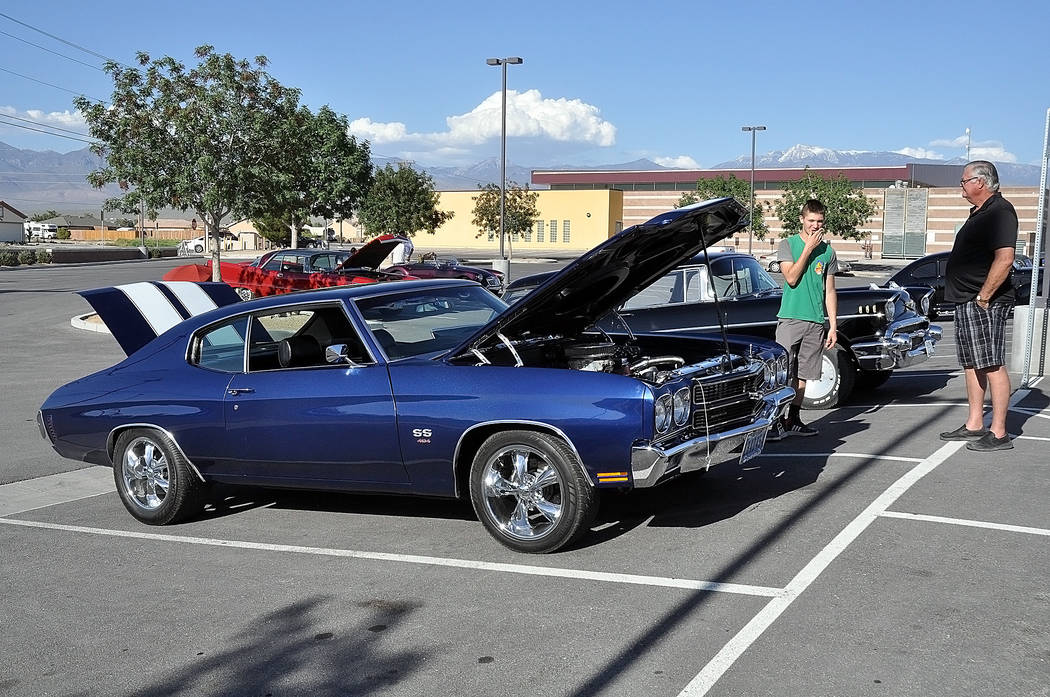 Horace Langford Jr./Special to the Pahrump Valley Times The Custom Car Show and Sock Hop inclu ...