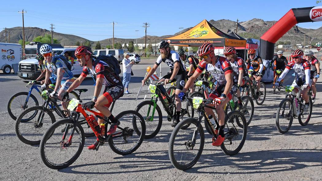 Richard Stephens/Special to the Pahrump Valley Times The third annual Tinker Classic's 100-kilo ...