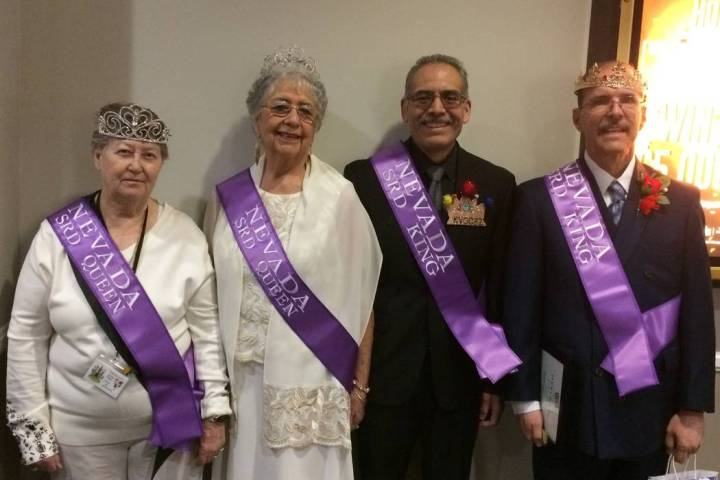 Special to the Pahrump Valley Times Left to right, Barbara Pringle, Lupe Evangelisti, Joe Juare ...