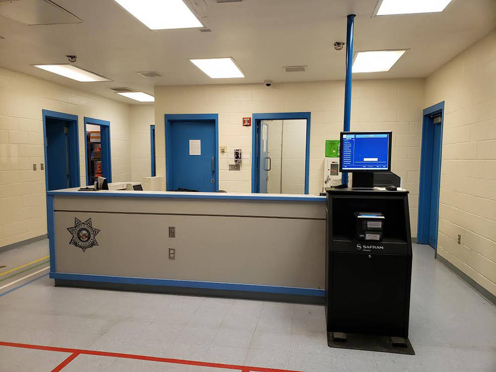 Special to the Pahrump Valley Times The interior of the Tonopah Jail, as pictured in this May 2 ...