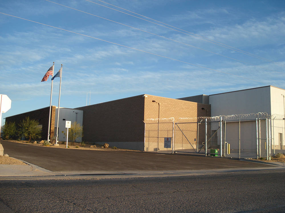 Special to the Pahrump Valley Times The Nye County Detention Center in Pahrump, pictured here, ...