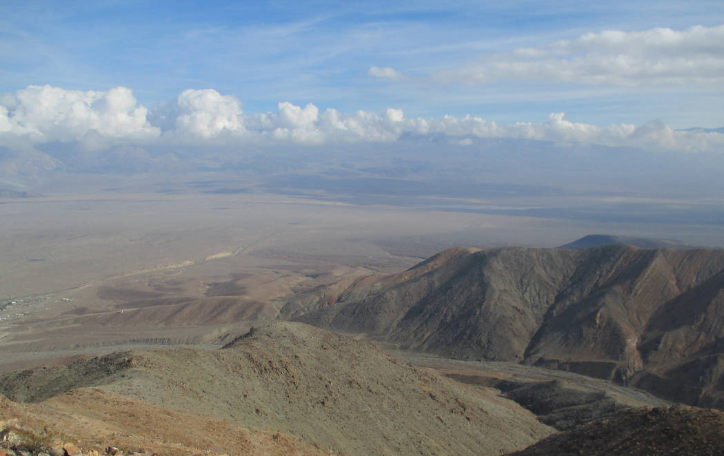 An undated photo shows once-private land near Panamint Springs that was recently added to Death ...
