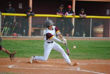 Charlotte Uyeno/Pahrump Valley Times Pahrump Valley senior second baseman Joey Koenig was chose ...