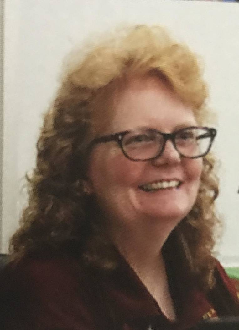 Special to the Pahrump Valley Times Former Pahrump Valley High School instructor Amy Nelson, no ...