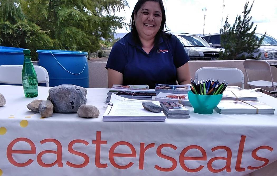 Selwyn Harris/Pahrump Valley Times Easterseals Nevada Independent Living Specialist Annabella R ...