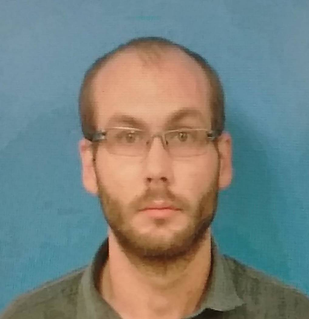 Special to the Pahrump Valley Times Jared Bedgood, 29, of Pahrump was arrested on May 11, and c ...