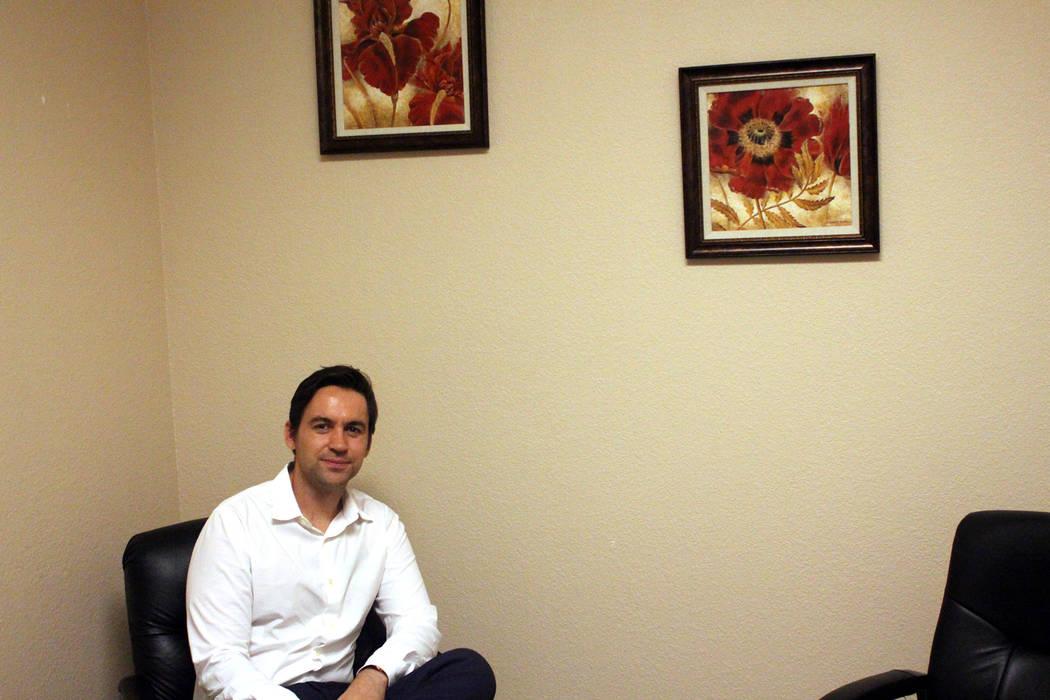 Jeffrey Meehan/Pahrump Valley Times Jeremy Setters, director of program development for rural p ...