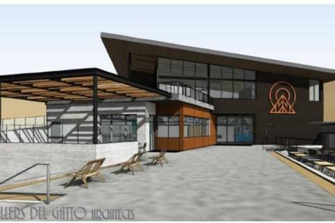 Courtesy of Lee Canyon A rendering of the new Hillside Lodge at Lee Canyon, set to be complete ...