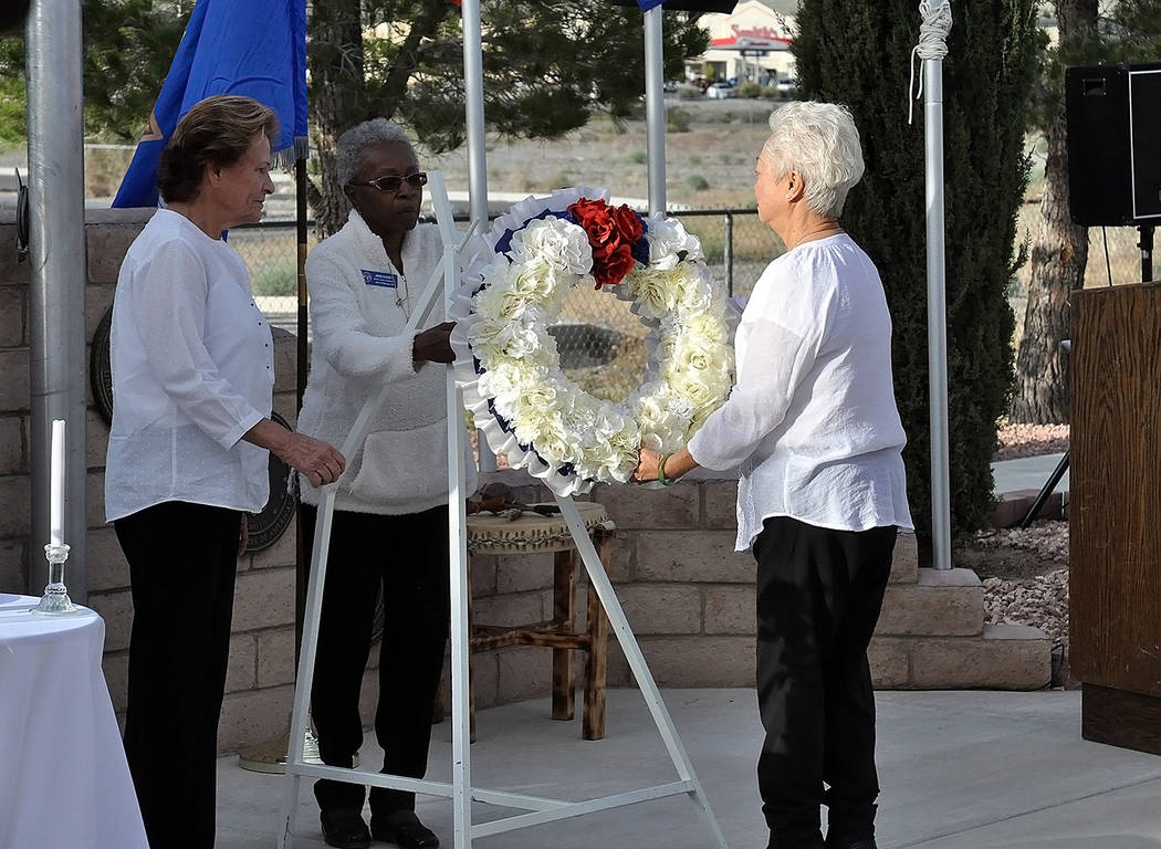 Horace Langford Jr./Pahrump Valley Times The Disabled American Veterans Chapter #15 Auxiliary ...