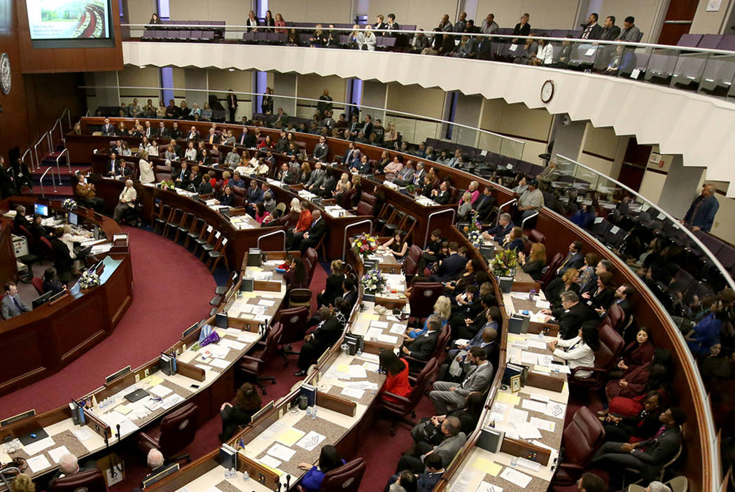 K.M. Cannon/Las Vegas Review-Journal This session's Nevada Legislature has not been kind to rur ...