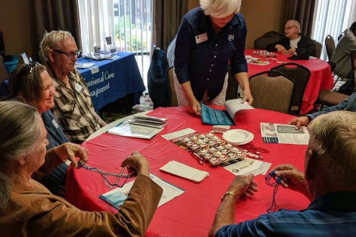 Cold War Patriots/Special to the Pahrump Valley Times Attendees said they enjoyed being able to ...