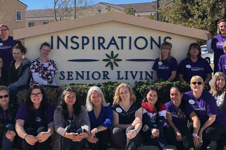 Special to the Pahrump Valley Times Inspirations provides an innovative approach to memory care ...