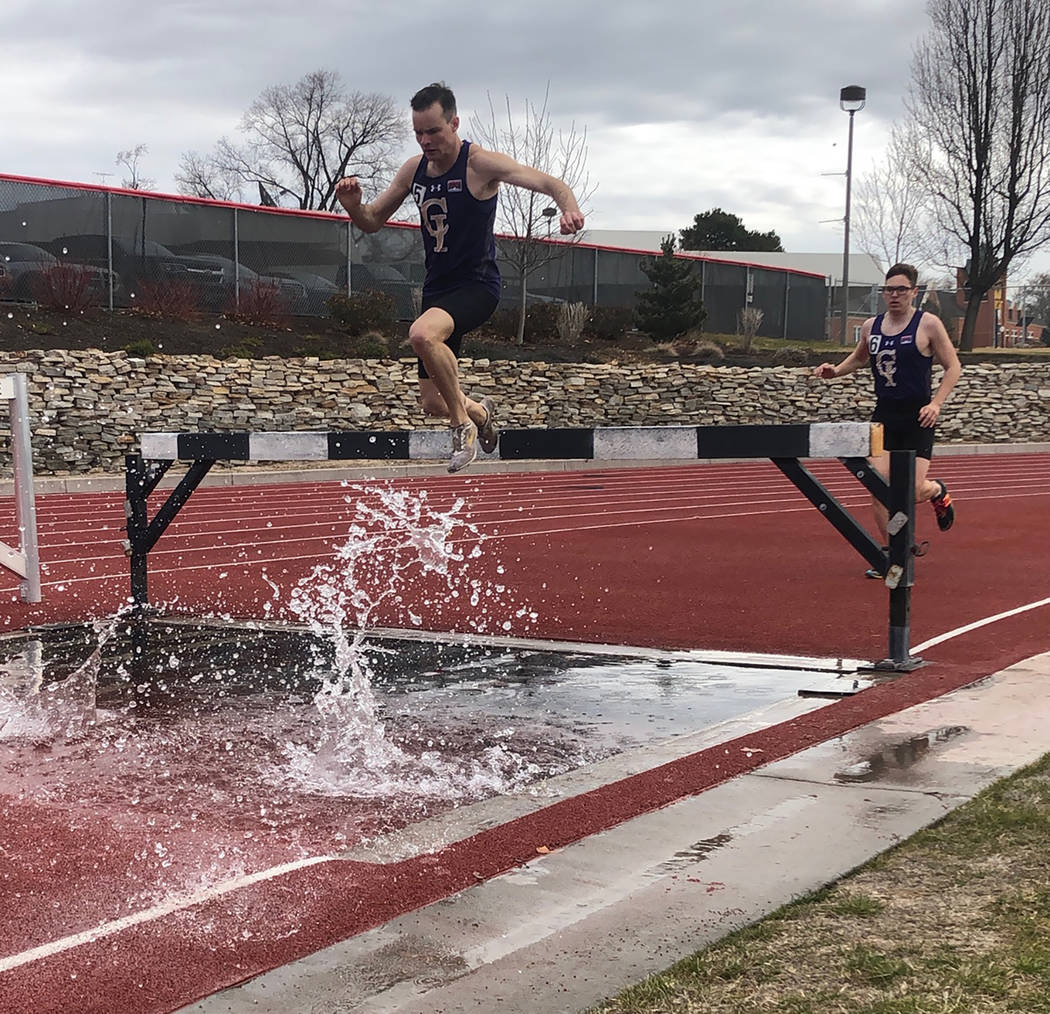 Special to the Pahrump Valley Times Pahrump Valley High School graduate Bryce Odegard competed ...