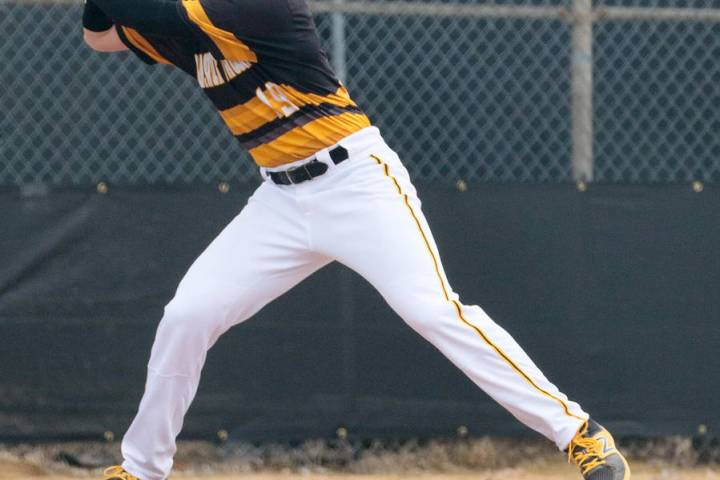 Special to the Pahrump Valley Times Parker Hart's baseball journey has taken him from Pahrump t ...