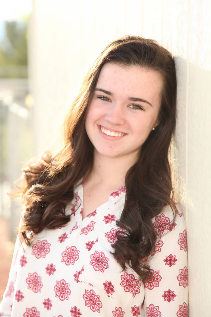 Special to the Pahrump Valley Times McKenna Abbiss, the daughter of Mike and Cambria Abbiss, is ...