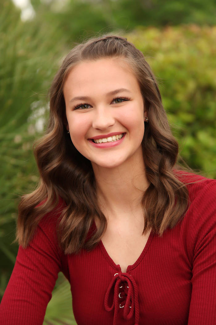 Special to the Pahrump Valley Times Aliya Bolton, the daughter of Michele and Cory Bolton, is ...