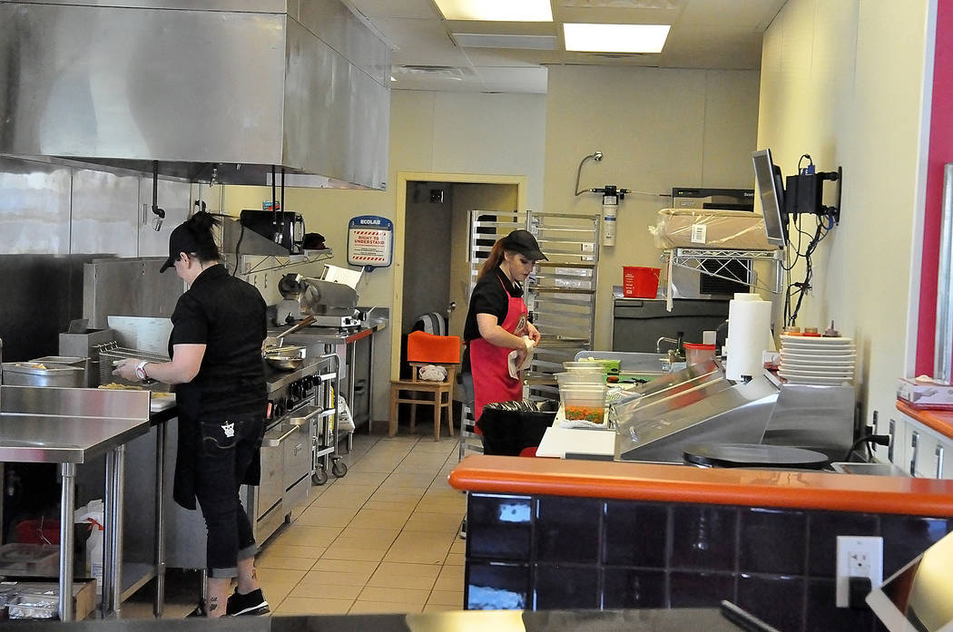 Horace Langford Jr./Pahrump Valley Times Noodles and Crepe at 1541 E. Highway 372. The restaur ...