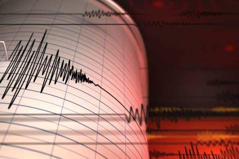 Thinkstock The quake, the Reno-based lab reports, occurred about 11:16 a.m. about 10.5 miles no ...