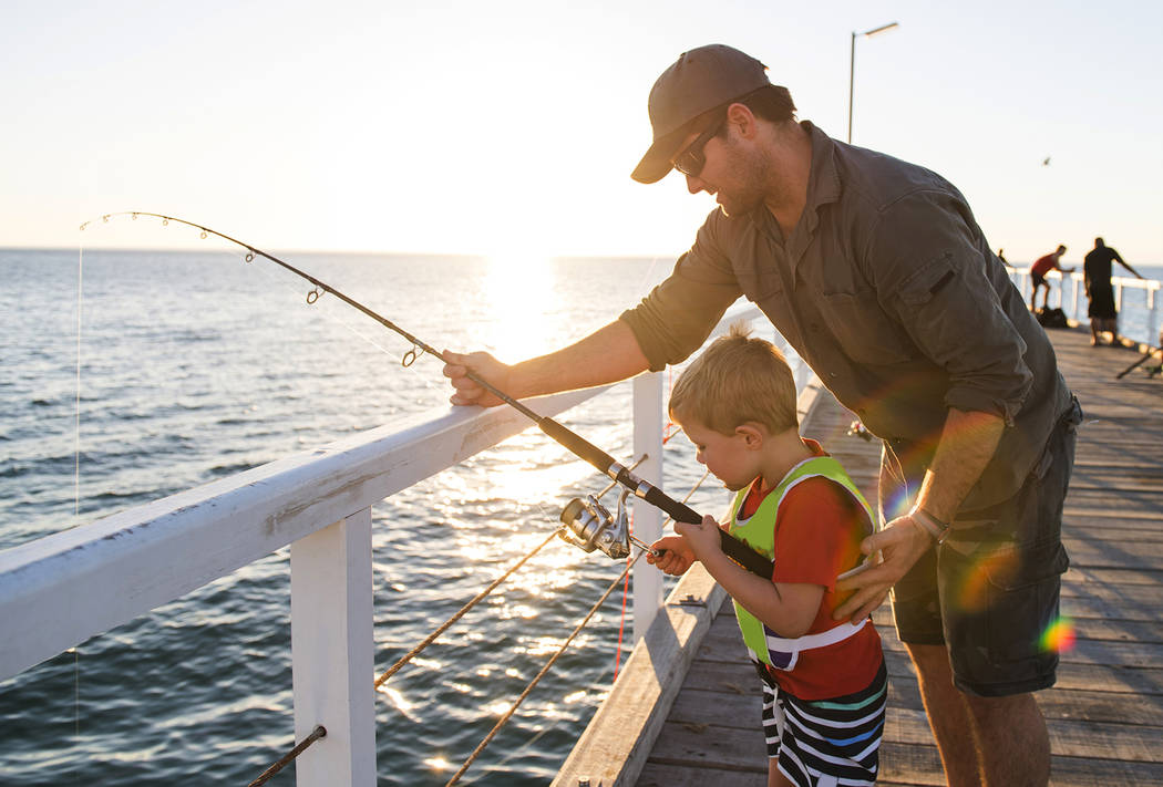 Getty Images So, what are the characteristics of a good Dad? columnist Tim Burke says.