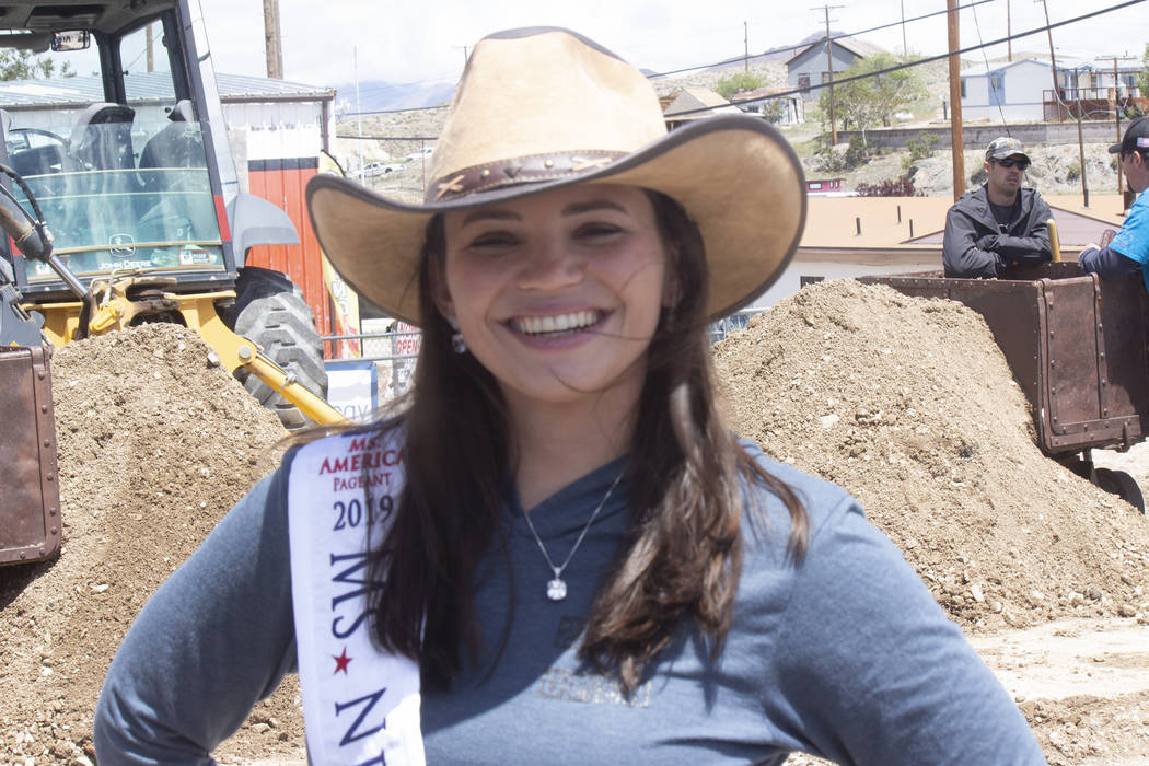 Jeffrey Meehan/Times-Bonanza & Goldfield News Katie Jo Williams, Ms. Nevada State in the 2019 M ...
