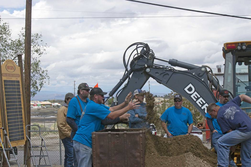 Jeffrey Meehan/Times-Bonanza & Goldfield News The Nevada State Mining Championships has been he ...