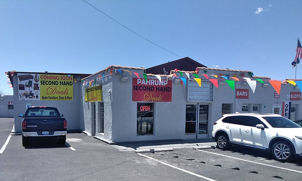 Selwyn Harris/Pahrump Valley Times Pahrump Second-Hand Deals is owner Monica Lopez's second loc ...