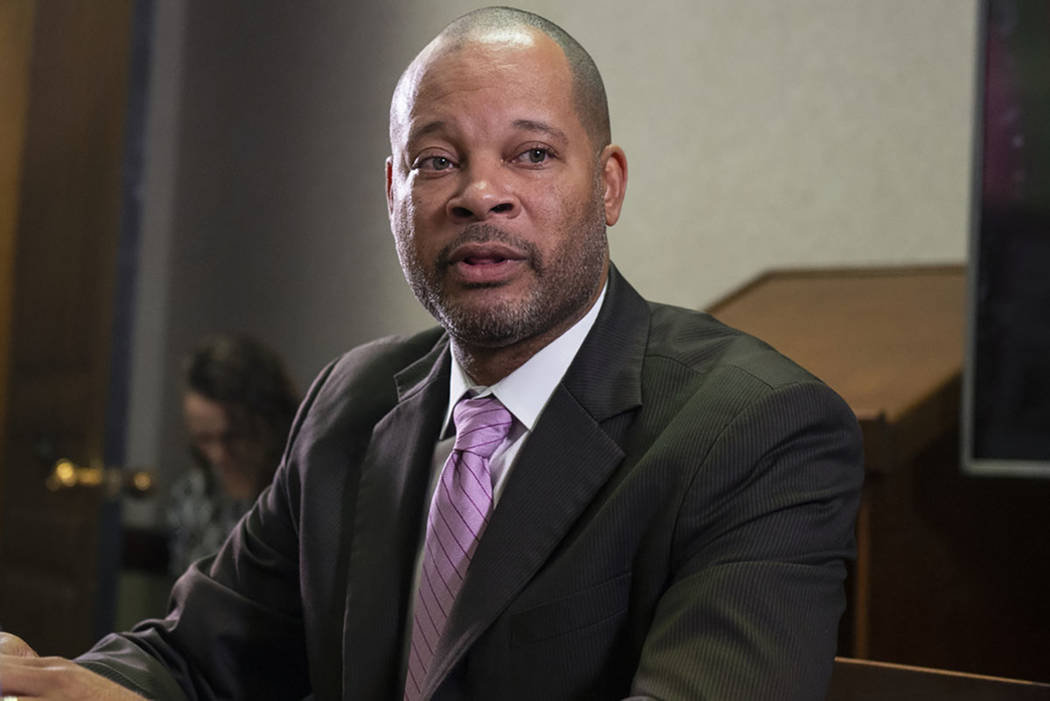Las Vegas Review-Journal Nevada Attorney General Aaron Ford said the state stands to collect te ...