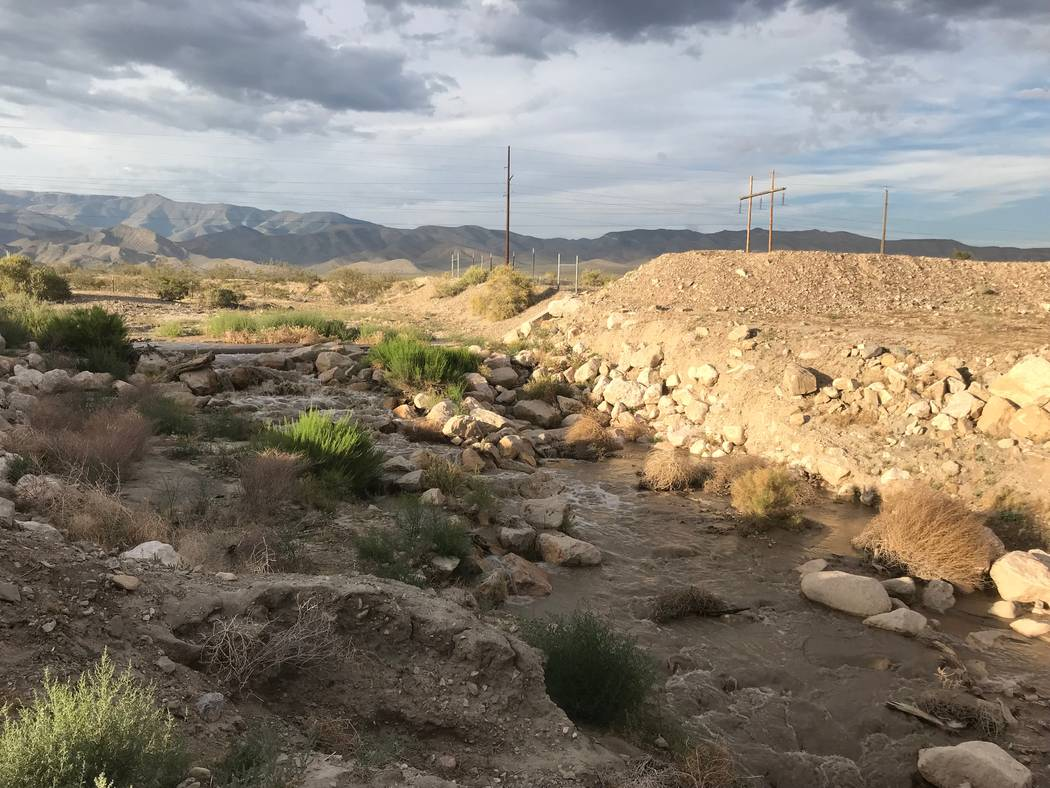 Terri Meehan/Special to the Pahrump Valley Times The National Weather Service in Las Vegas stat ...