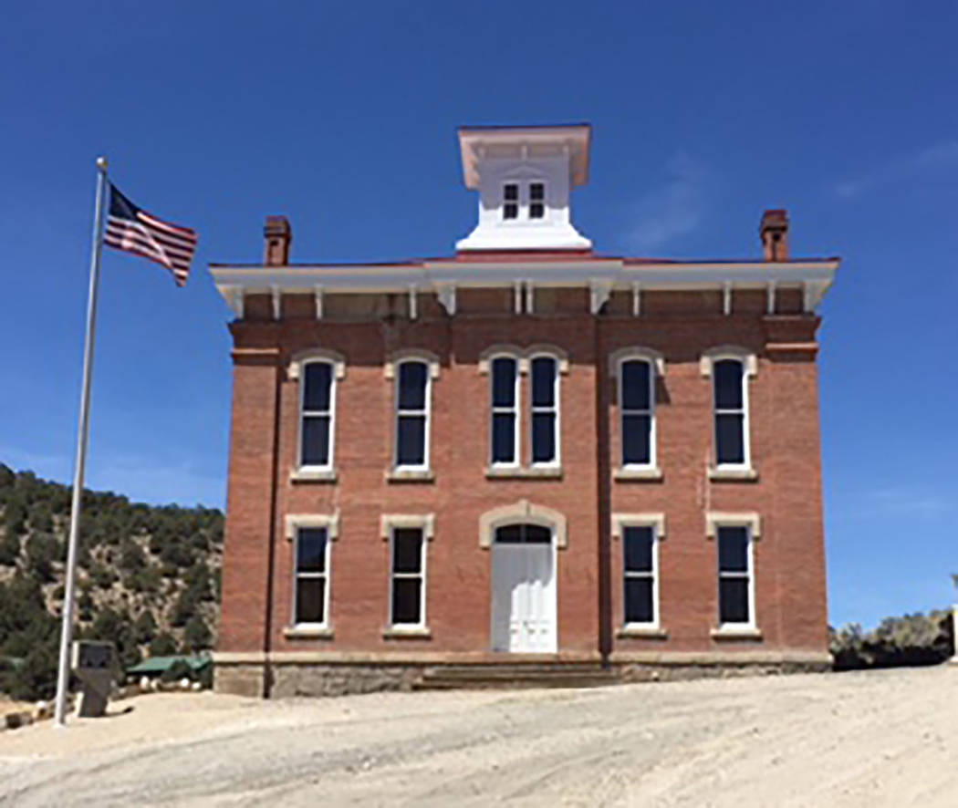 Special to the Pahrump Valley Times The Belmont Courthouse was completed in 1876 and heard its ...