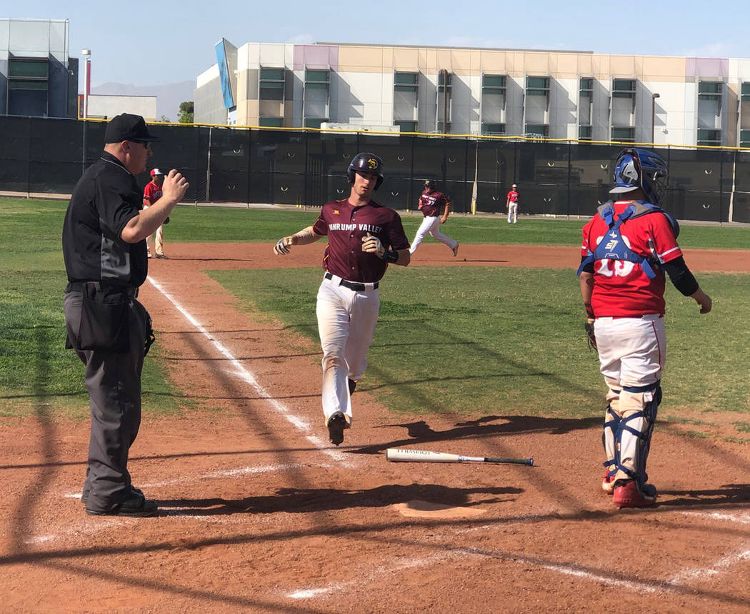 Tom Rysinski/Pahrump Valley Times Willie Lucas, who recently committed to play baseball at Ariz ...