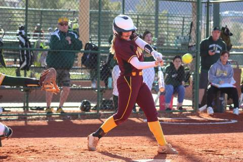 Cassodnra Lauver/Special to the Pahrump Valley Times Pahrump Valley High School graduate Jackie ...