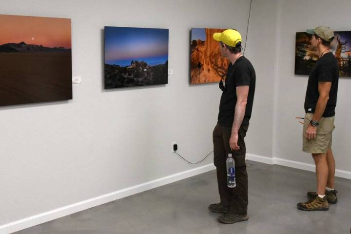 Richard Stephens / Special to the Pahrump Valley Times The exhibit consists of spectacular, lar ...