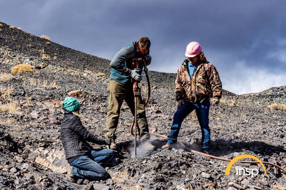 Photo courtesy of INSP Turquoise Fever follows the Otteson family as they mine turquoise in th ...