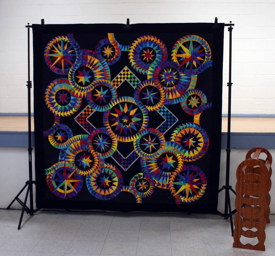 Robin Hebrock/Pahrump Valley Times The 2019 Opportunity Quilt, shown, will be a major feature o ...