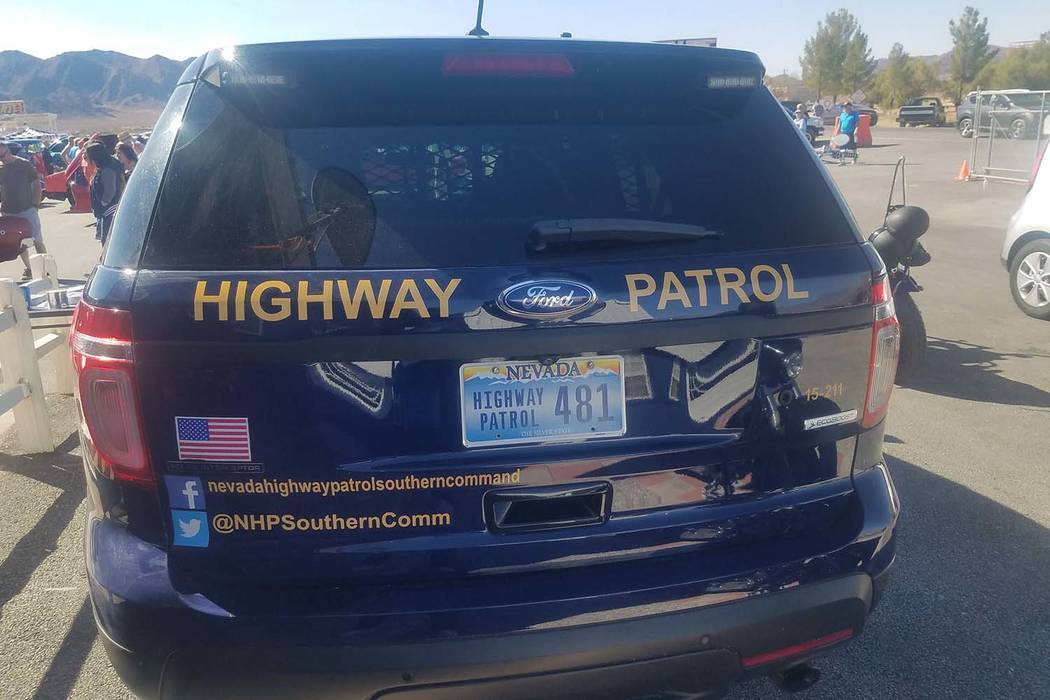 David Jacobs/Pahrump Valley Times The Nevada Highway Patrol is investigating the crash.
