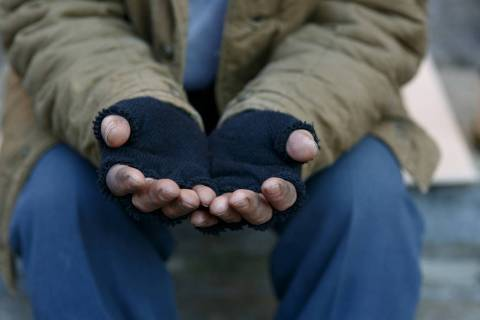 Getty Images Panhandling, begging and charitable or political solicitations are now to be regul ...