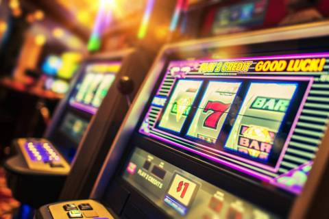 Getty Images Nye County gaming establishments experienced a gain of more than 9.5% in gaming wi ...